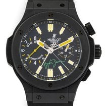 Hublot Big Bang 44 mm pre-owned Black Chronograph Date Rubber
