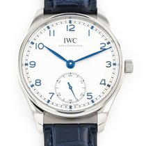IWC Portuguese Automatic Steel 40.4mm Silver Arabic numerals United States of America, Florida, Hollywood