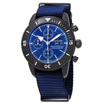Breitling Superocean Chronograph II Steel 44mm Blue No numerals United States of America, New York, New York