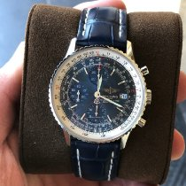 Breitling Navitimer Heritage pre-owned Blue Leather