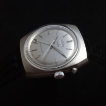 Vulcain Cricket Stahl 38mm Silber