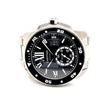 Cartier Calibre de Cartier Diver Steel 42mm Black Roman numerals United States of America, California, La Jolla