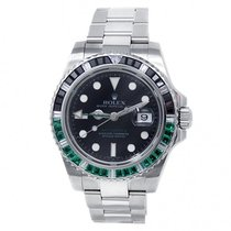 Rolex 116710 Steel 2000 GMT-Master II 40mm pre-owned United States of America, New York, New York
