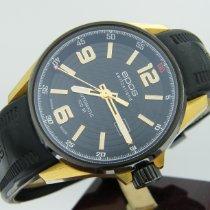 Epos Sportive Gold/Steel 44mm Black Arabic numerals