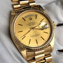 Rolex 18038 Yellow gold 1981 Day-Date 36 36mm pre-owned United States of America, Texas, Frisco