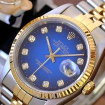 Rolex Datejust Gold/Steel 36mm Blue United States of America, California, Sherman Oaks