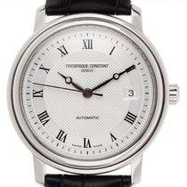 Frederique Constant gebraucht Automatik 38mm Silber Saphirglas