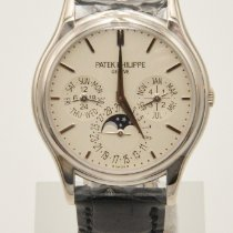Patek Philippe White gold Automatic White No numerals 37.2mm new Perpetual Calendar