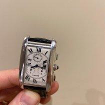 Cartier Tank Américaine White gold 26mm White Roman numerals