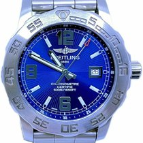 Breitling Colt 44 Steel 44mm Blue No numerals United States of America, Florida