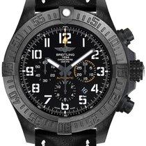 Breitling Plastic Automatic Black Arabic numerals 50mm new Avenger Hurricane