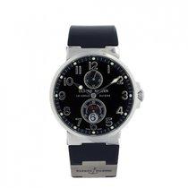 Ulysse Nardin Marine Chronometer 41mm 263-66 Meget god Stål Kronograf