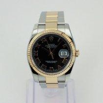 Rolex Datejust 116231 God Guld/Stål 36mm Automatisk