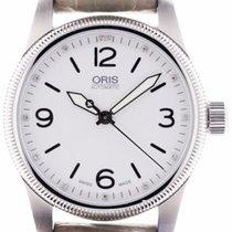 Oris Parts/Accessories Men's watch/Unisex 20283 new Leather Grey Big Crown