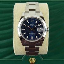 Rolex Datejust occasion 41mm Bleu Acier