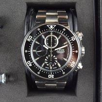 Oris Titanium Automatic Black 51mm pre-owned ProDiver Chronograph