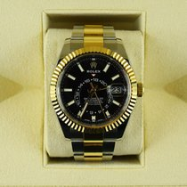 Rolex Sky-Dweller Gold/Steel 42mm Black United Kingdom, Hemel Hempstead, Hertfordshire