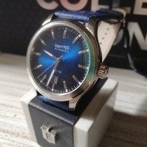 Eberhard & Co. Aiglon Steel 41mm Blue No numerals