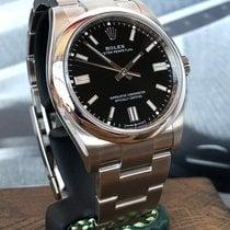 Rolex Oyster Perpetual 36 Сталь 36mm Черный Без цифр