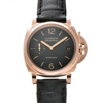 Panerai Red gold Automatic Black 38mm new