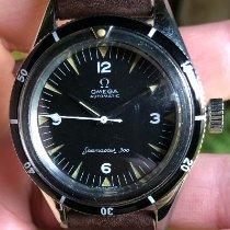 Omega Seamaster 300 Сталь Черный Aрабские