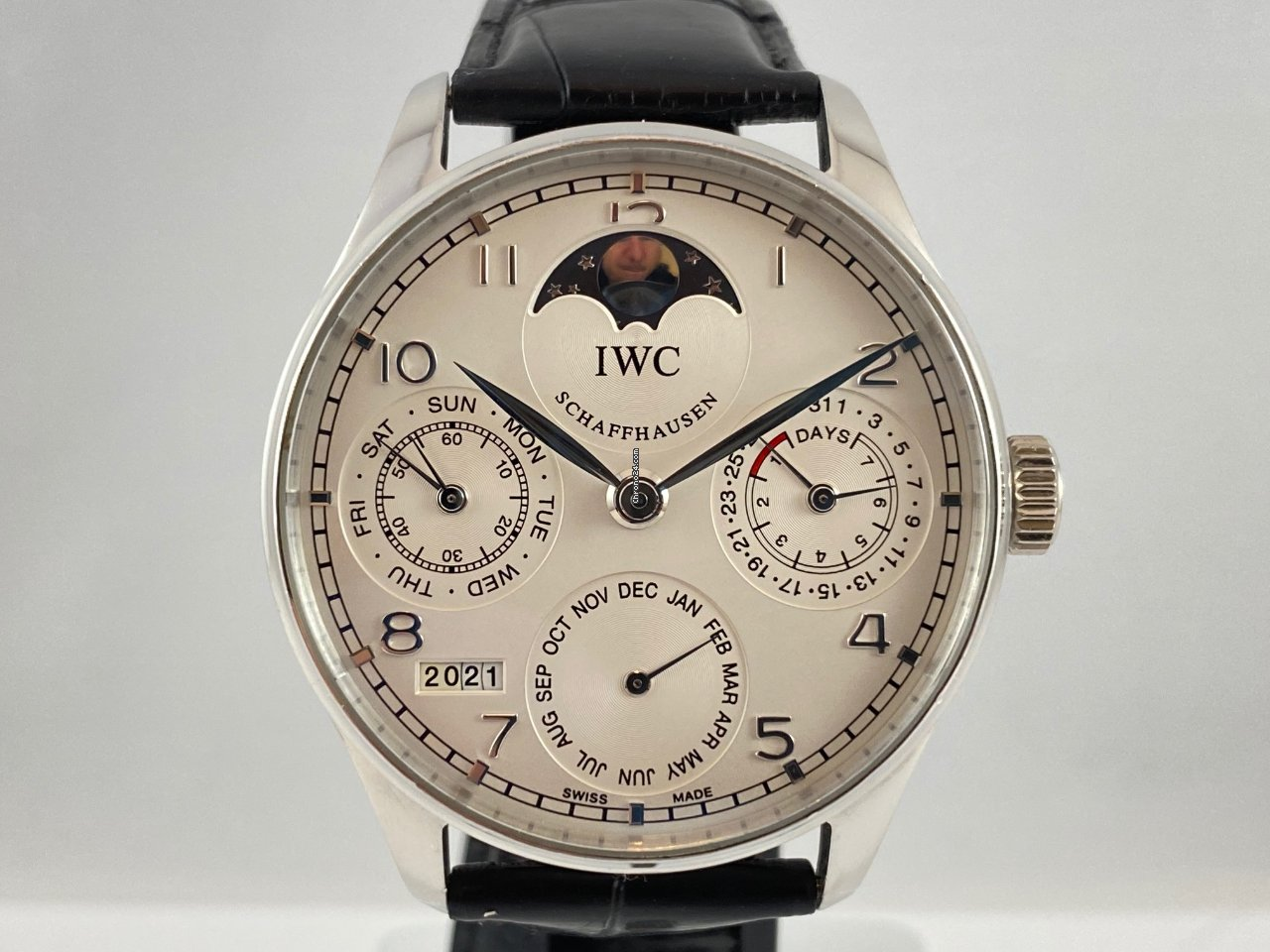 IWC Portuguese Perpetual Calendar IW502219 2009 tweedehands