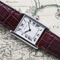Cartier Tank Louis Cartier Platino 24mm Plata Romanos