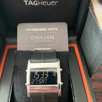 TAG Heuer Microtimer Steel 38mm Black
