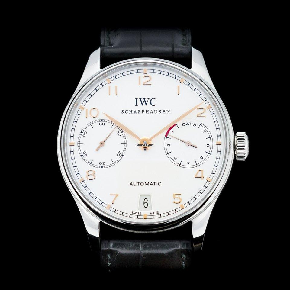 IWC Portuguese Automatic IW500114 2017 новые