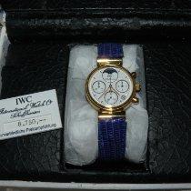 IWC Da Vinci Chronograph Gelbgold 29mm Weiß Keine Ziffern Deutschland, karlsruhe