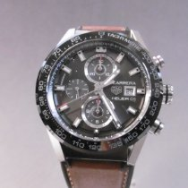 TAG Heuer CAR201W.FT6122 Steel 2020 Carrera Calibre HEUER 01 43mm pre-owned