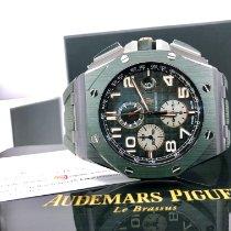 Audemars Piguet Royal Oak Offshore Chronograph Ceramic 44mm Green Arabic numerals