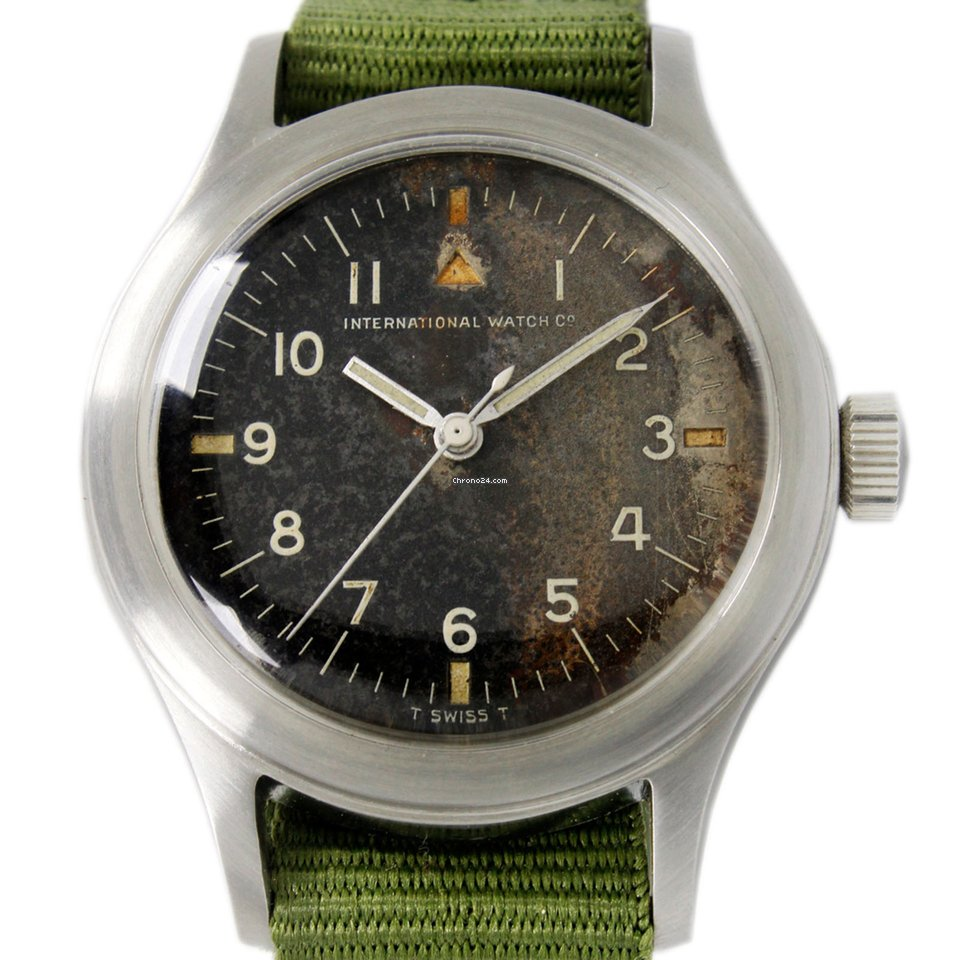 IWC Pilot Mark iwc Military Style Civilian 1960 pre-owned