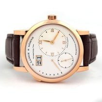 A. Lange & Söhne Lange 1 Rose gold 39.5mm Silver Roman numerals United States of America, Florida, Aventura