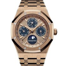 Audemars Piguet Royal Oak Perpetual Calendar Rose gold 41mm Pink No numerals United States of America, New York, New York
