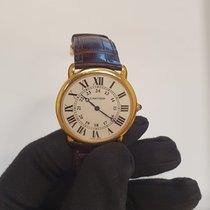 Cartier Ronde Louis Cartier Pозовое золото 36mm Белый Римские