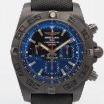Breitling Chronomat 44 Blacksteel Steel 44mm Black