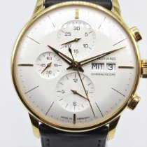 Junghans Meister Chronoscope Steel 40,6mm Silver No numerals