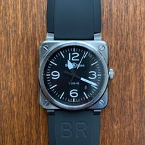 Bell & Ross BR0392-BLC-ST Steel 2015 BR 03-92 Steel 42mm pre-owned United States of America, Texas, Sugar Land