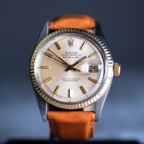 Rolex pre-owned Automatic 36mm Gold (solid) Plexiglass 10 ATM