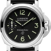 Panerai Luminor Marina Сталь 44mm Черный Aрабские