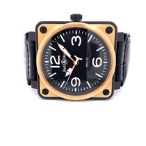 Bell & Ross BR 01-92 Rose gold 46mm Black Arabic numerals United States of America, California, Beverly Hills