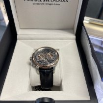 Maurice Lacroix Masterpiece Squelette Gold/Steel 45mm Transparent United States of America, Illinois, Melrose Park