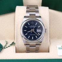 Rolex Datejust Steel 36mm Blue No numerals United States of America, California, Los Angeles