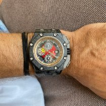Audemars Piguet Royal Oak Offshore Grand Prix Carbon 44mm Black No numerals