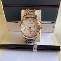 Longines Saint-Imier Gold/Steel 41mm Silver No numerals United States of America, California, Los Angeles