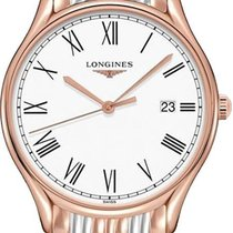 Longines Lyre Steel 35mm White Roman numerals United States of America, California, Moorpark