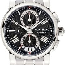 Montblanc Star 4810 Steel 44mm Black Roman numerals United States of America, California, Moorpark