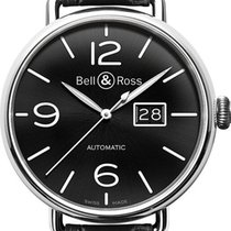 Bell & Ross Vintage new Automatic Watch with original box WW1-96-GRANDE-DATE