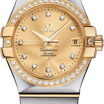 Omega Constellation Ladies Steel 35mm Gold United States of America, California, Moorpark